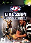 Covers AFL Live 2004 xbox