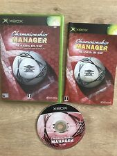 Covers Championship Manager: Season 01/02 xbox