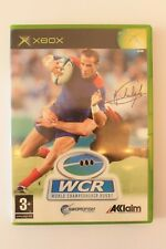 Covers World Championship Rugby xbox
