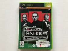 Covers World Snooker Championship 2005 xbox